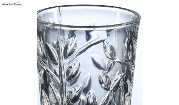 50 ML Vodka Leafy Print Shot Glasses - Set of 6-4