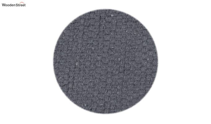 Black Cotton Table Placemats (13×19 Inch , Pack of 4)-5