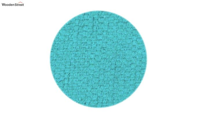 Turquoise Cotton Table Placemats (13×19 Inch , Pack of 4)-4