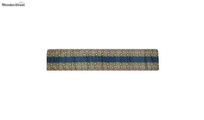 Blue PolyCanvas Printed Fabric Table Runner (72 x 14 inches)-3