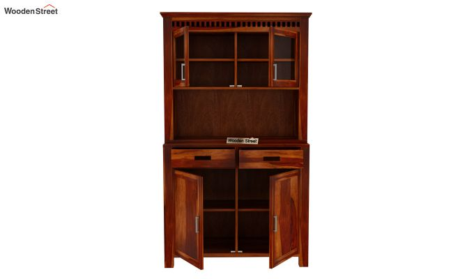 Adolph Hutch Cabinet (Honey Finish)-5