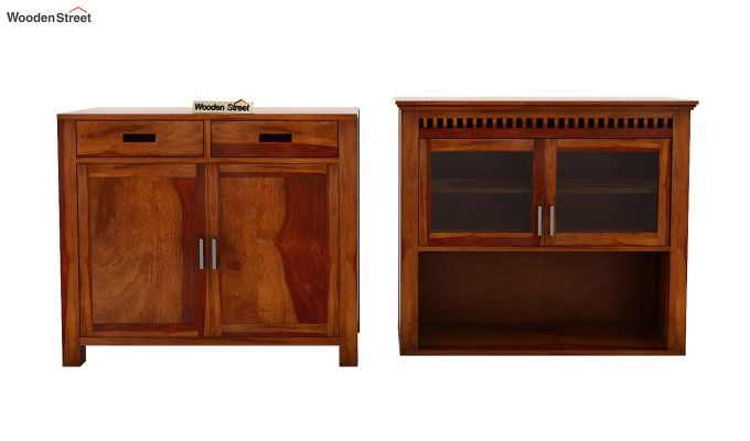 Adolph Hutch Cabinet (Honey Finish)-7