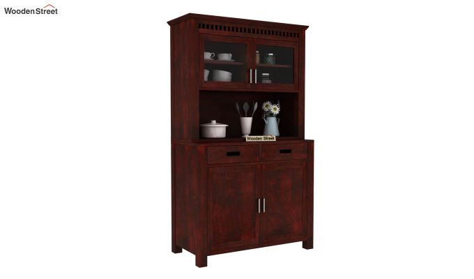 Adolph Hutch Cabinet (Mahogany Finish)-1