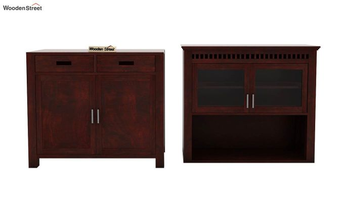 Adolph Hutch Cabinet (Mahogany Finish)-6
