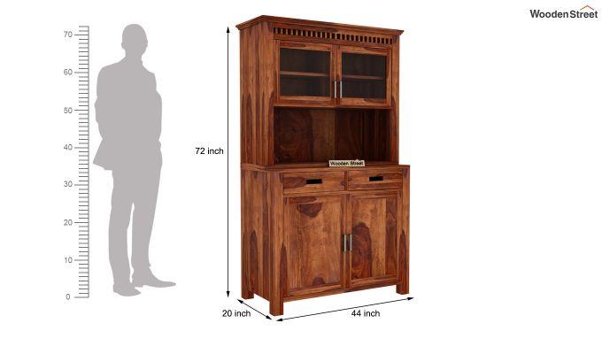 Adolph Hutch Cabinet (Teak Finish)-7