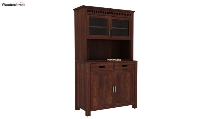 Adolph Hutch Cabinet (Walnut Finish)-5