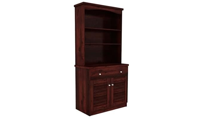 Aelita Kitchen Cabinet (Mahogany Finish)-2