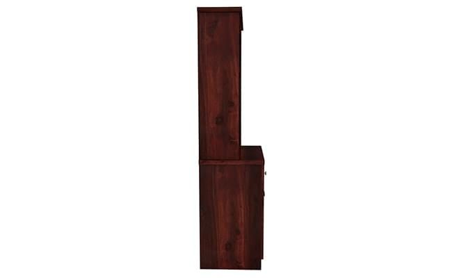 Aelita Kitchen Cabinet (Mahogany Finish)-7