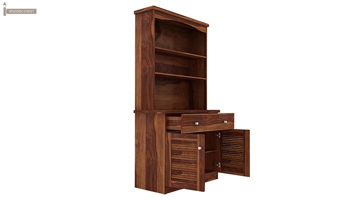 Aelita Kitchen Cabinet (Teak Finish)-3