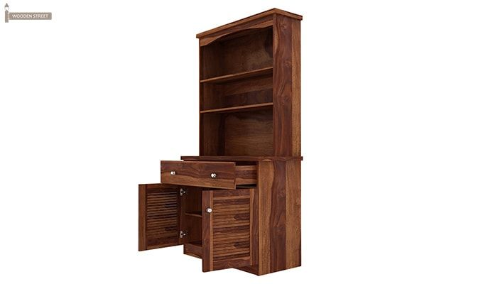 Aelita Kitchen Cabinet (Teak Finish)-6