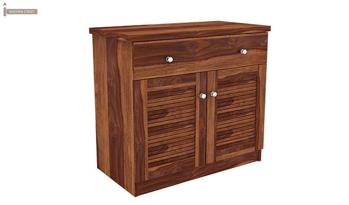 Aelita Kitchen Cabinet (Teak Finish)-8