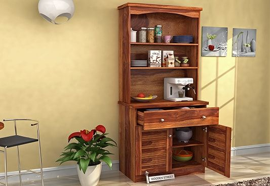 Kitchen Cabinet: Buy Solid Wood Kitchen Cabinets Online India @ 55% OFF