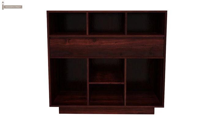 Beauford Kitchen Cabinet (Mahogany Finish)-4