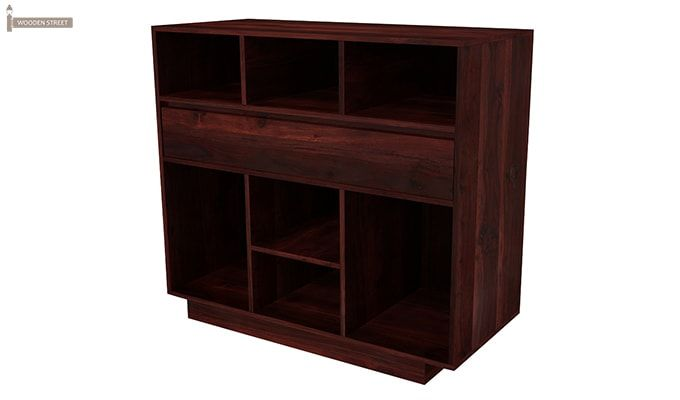 Beauford Kitchen Cabinet (Mahogany Finish)-5