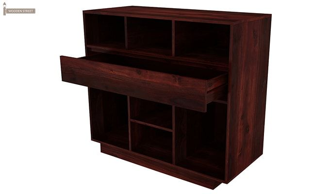 Beauford Kitchen Cabinet (Mahogany Finish)-6