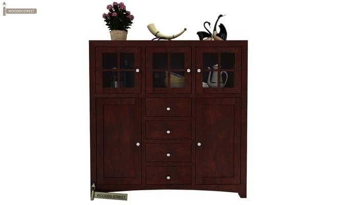 Carrock Cabinet (Mahogany Finish)-1