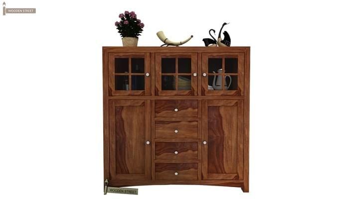 Carrock Cabinet (Teak Finish)-1
