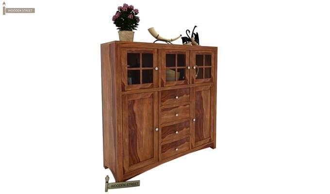 Carrock Cabinet (Teak Finish)-2