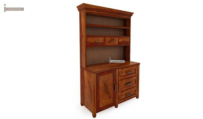 Clayton Kitchen Cabinet (Honey Finish)-3