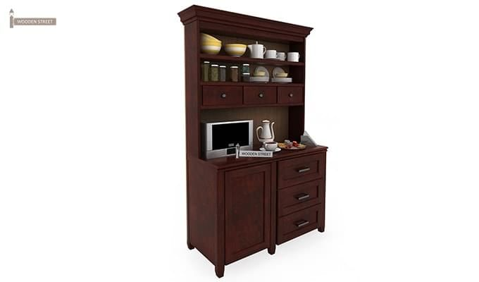 Clayton Kitchen Cabinet (Mahogany Finish)-2