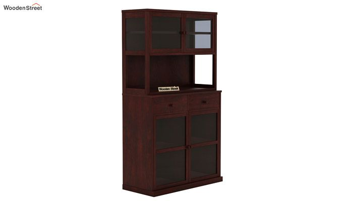 Darius Kitchen Cabinet (Mahogany Finish)-3