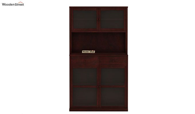 Darius Kitchen Cabinet (Mahogany Finish)-4