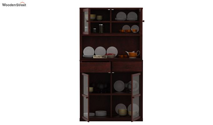 Darius Kitchen Cabinet (Mahogany Finish)-6