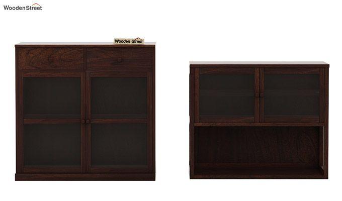 Darius Kitchen Cabinet (Walnut Finish)-8