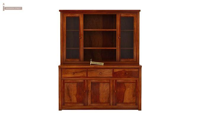 Galla Kitchen Cabinet (Honey Finish)-4
