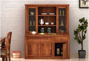 solid wood kitchen storage cabinet online india