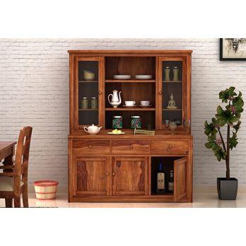 solid wood kitchen storage cabinet online india