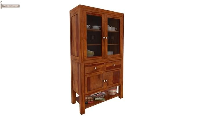 Maglory Kitchen Cabinet (Honey Finish)-2