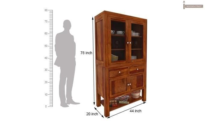Maglory Kitchen Cabinet (Honey Finish)-3