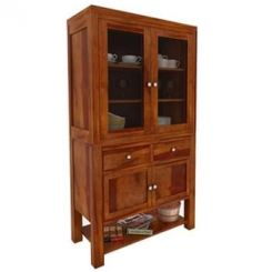 Maglory Kitchen Cabinet (Honey Finish)