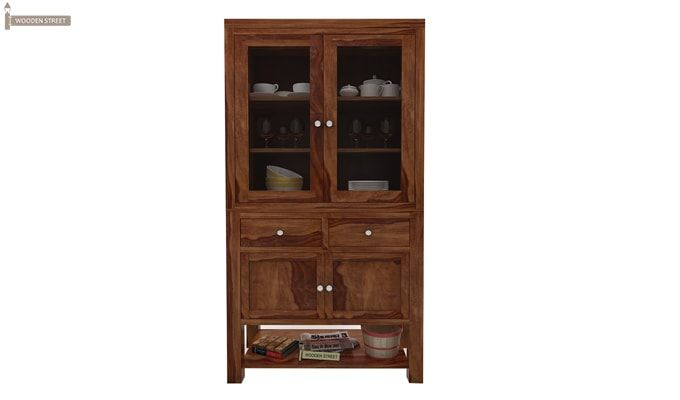 Maglory Kitchen Cabinet (Teak Finish)-2