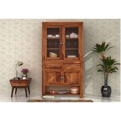 Maglory Kitchen Cabinet (Teak Finish)