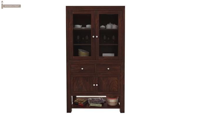Maglory Kitchen Cabinet (Walnut Finish)-1