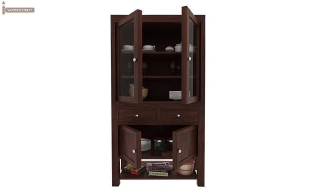 Maglory Kitchen Cabinet (Walnut Finish)-3