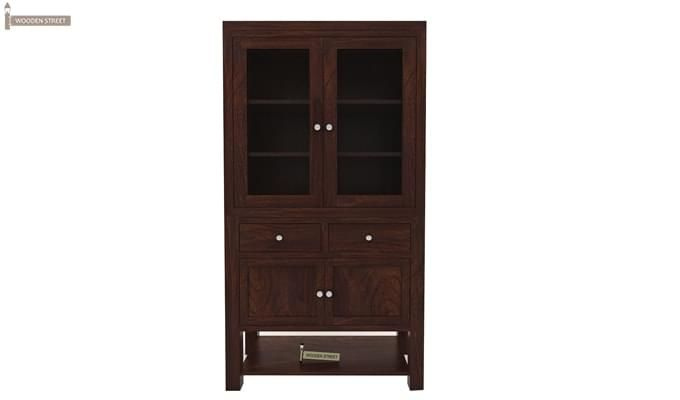 Maglory Kitchen Cabinet (Walnut Finish)-4