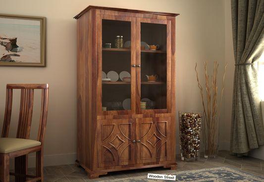wooden crockery cabinet online