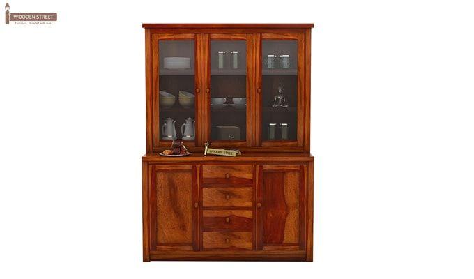 Monarch Kitchen Cabinet (Honey Finish)-2