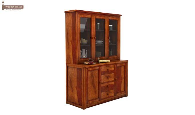 Monarch Kitchen Cabinet (Honey Finish)-3