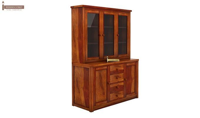 Monarch Kitchen Cabinet (Honey Finish)-4