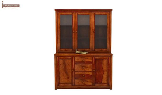 Monarch Kitchen Cabinet (Honey Finish)-5