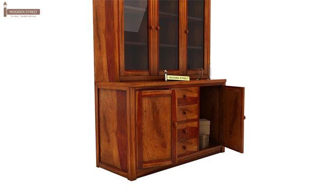 Monarch Kitchen Cabinet (Honey Finish)-6