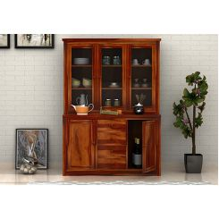 Monarch Kitchen Cabinet (Honey Finish)