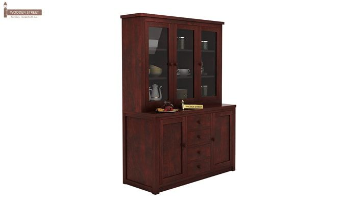 Monarch Kitchen Cabinet (Mahogany Finish)-2