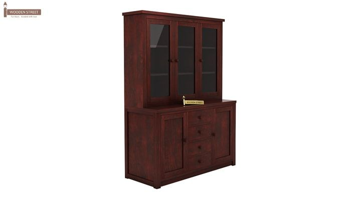 Monarch Kitchen Cabinet (Mahogany Finish)-3
