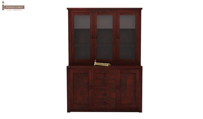 Monarch Kitchen Cabinet (Mahogany Finish)-4