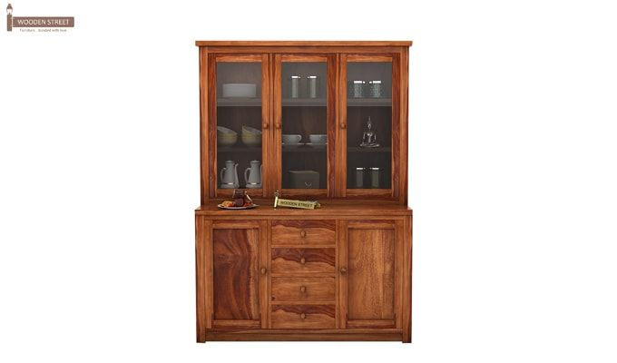 Monarch Kitchen Cabinet (Teak Finish)-1